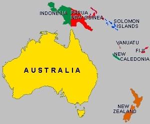 Map Of Australia New Zealand And Papua New Guinea.Map Of Australia New Zealand And Papua New Guinea Twitterleesclub